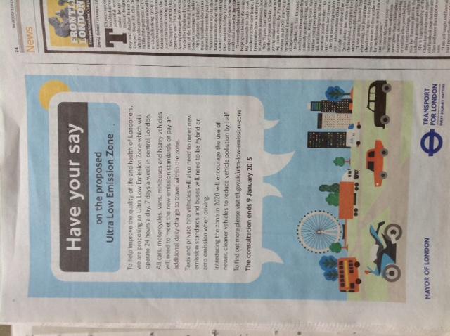 CAL 294 ULEZ advert Evening Standard 131114_Higher resolution