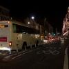 Zil bus stuck in traffic by Harrods
